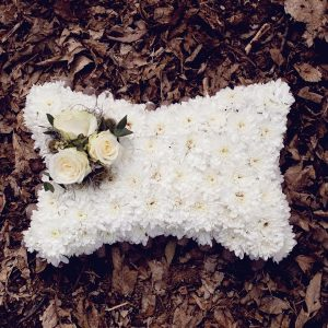 white-sympathy-pillow-cushion-tribute-essex